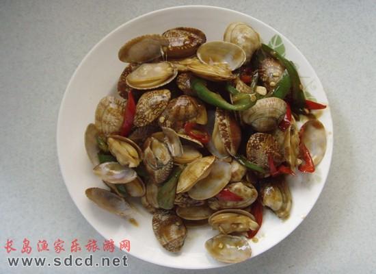 长岛海鲜美食—花蛤